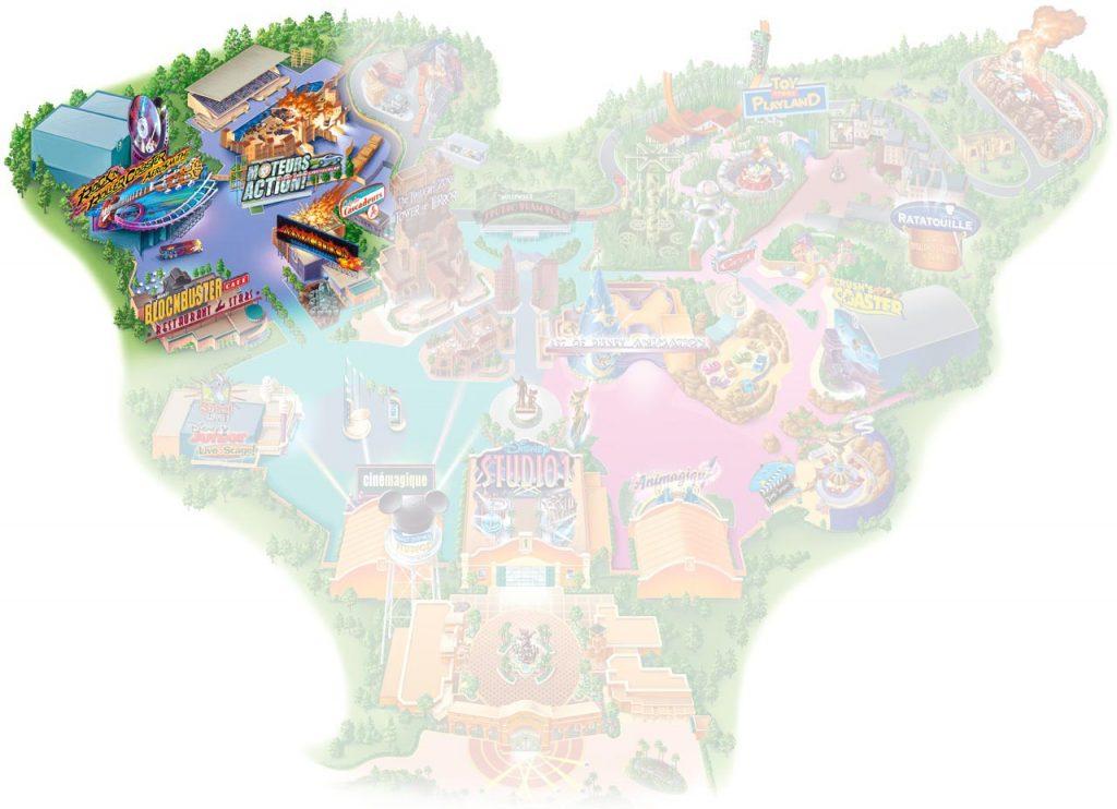 Backlot im Walt Disney Studios Park