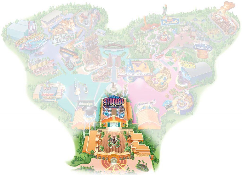 Front Lot im Walt Disney Studios Park