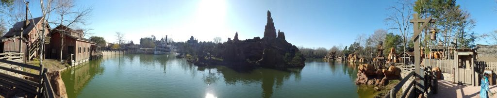 Panorama River of the far West im Frontierland