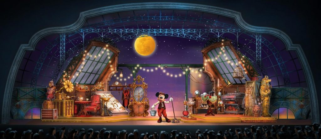 Mickey and the Magican / Micky und der Magier