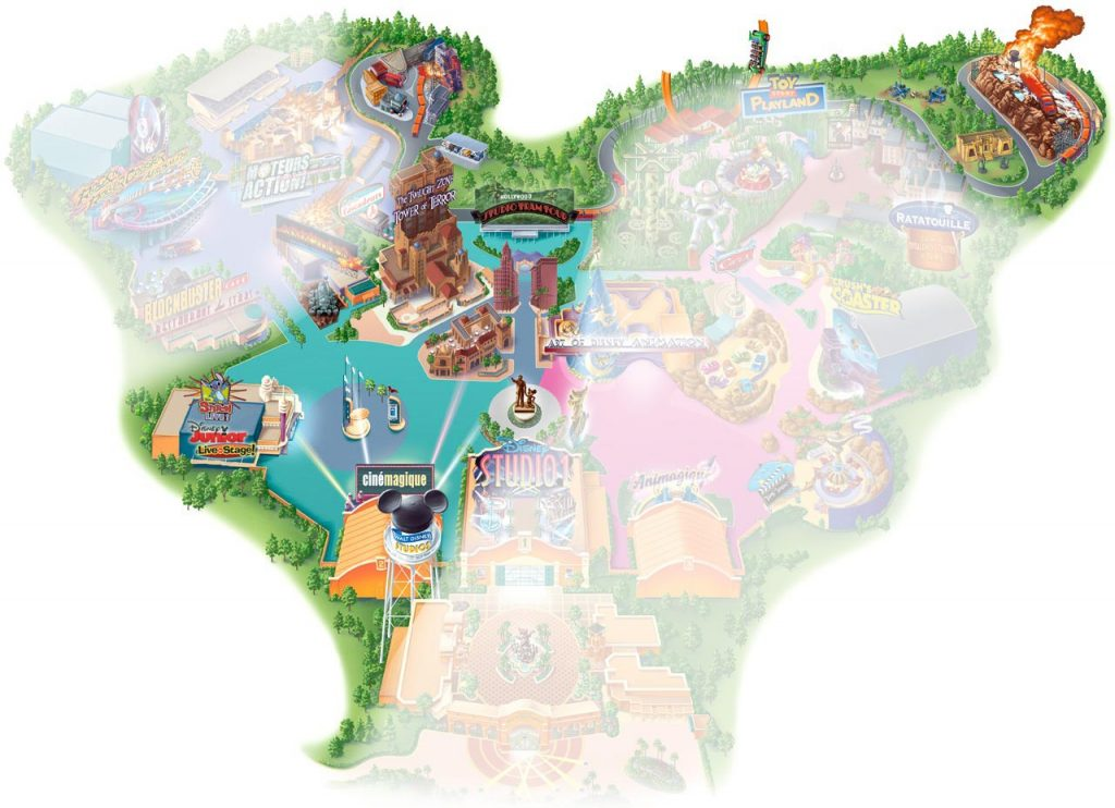 Production Courtyard im Walt Disney Studios Park