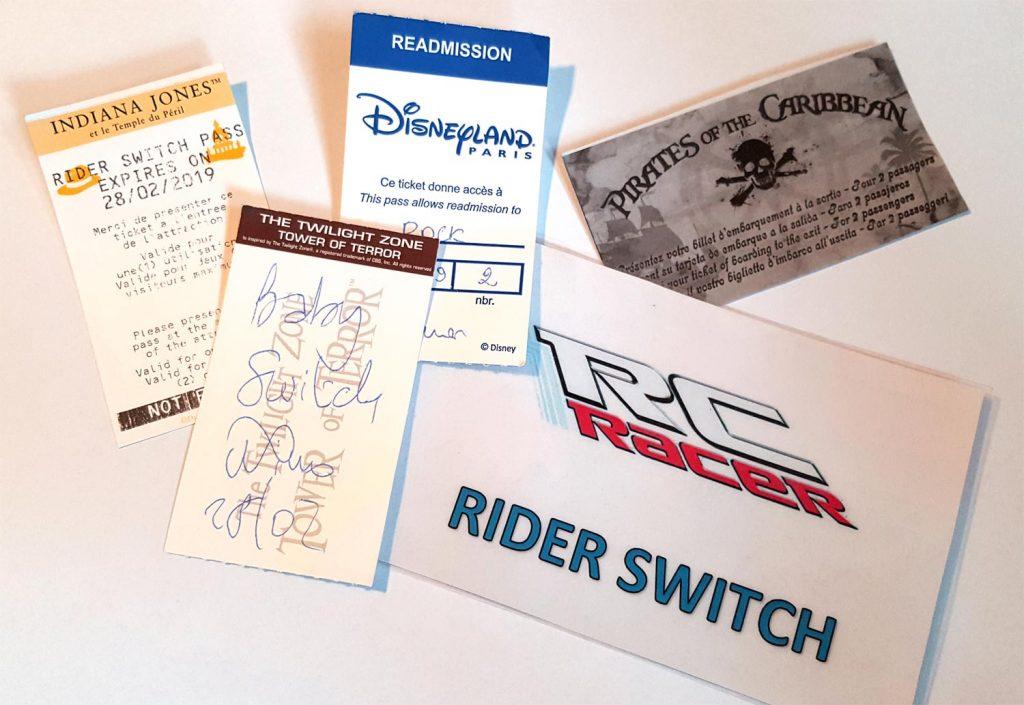 Rider Switch / Baby Switch Pass
