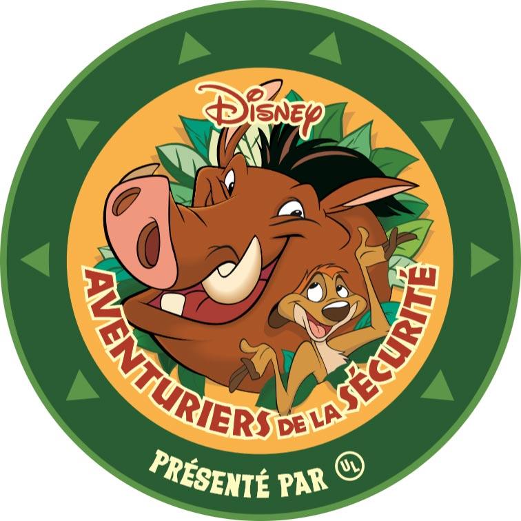 Timon und Pumbaa sind echte Abenteurer der Sicherheit. Auch du kannst einer werden!