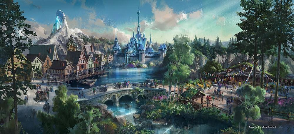 Konzeptzeichnung des Frozen Bereiches